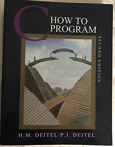 C: How to Program by Prentice Hall