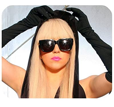 """Lady Gaga Mousepad Personalized Custom Mouse Pad Oblong Shaped In 9.84""""X7.87"""" Gaming Mouse Pad/Mat"""