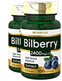Bilberry Extract Capsules | 2400mg | 200 Count