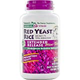 Nature's Plus - Herbal Actives Red Yeast Rice 600 mg Extended Release Mini-Tabs, 120 Count - Pack of 2