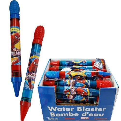Spider Man Water Gun - Spiderman Water Blaster x 2 (1 Red 1 Blue)