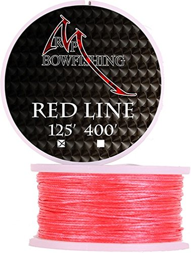 RPM Bowfishing Line 125'. Red Bowfishing Line