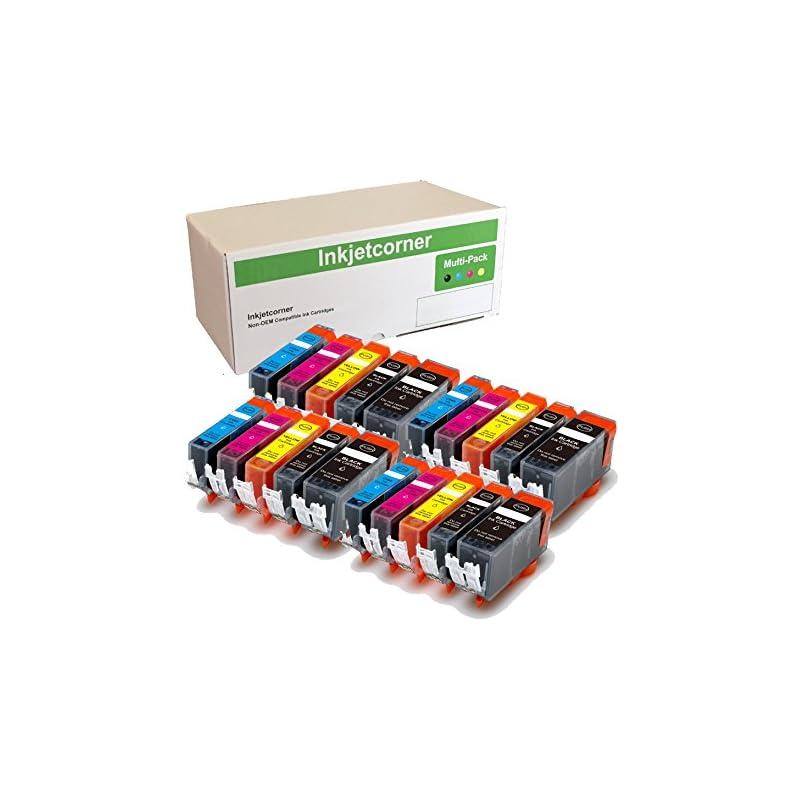 Inkjetcorner 20 Pack Compatible Ink Cart