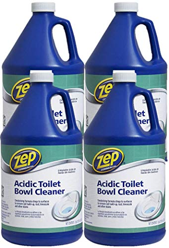 Zep Acidic Toilet Bowl Cleaner 128 ounce ZUATB128 (Case of -