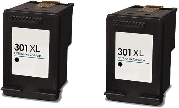 2 Negro ECS Compatible Cartuchos de Tinta reemplazar 301 x l para ...