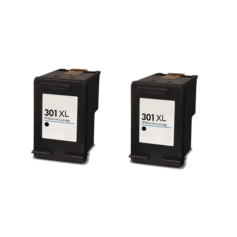 2 Negro ECS Compatible Cartuchos de Tinta reemplazar 301 x l ...