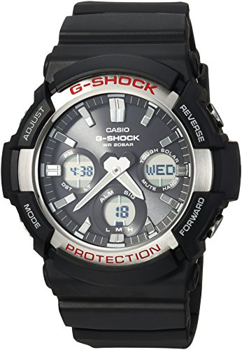 Casio Men's GAS-100-1ACR G Shock Analog-Digital Display Quartz Black Watch ()