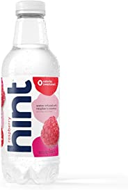 Hint Water Raspberry, (Pack of 12) 16 Ounce Bottles, Pure Water Infused with Raspberry, Zero Sugar, Zero Calories, Zero Sweet