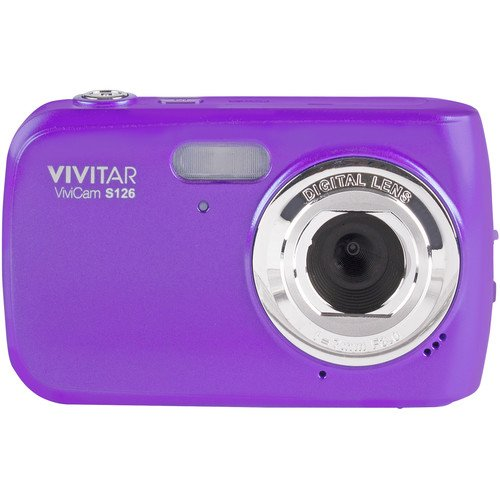 Vivitar VF126 14.1 MP Digital Camera with 1.8-Inch LCD Screen and...