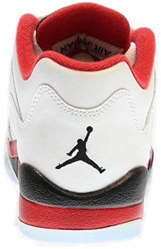aeb5a20df48 Nike Jordan Kids Air Jordan 5 Retro Low (GS) White Fire - Import It All