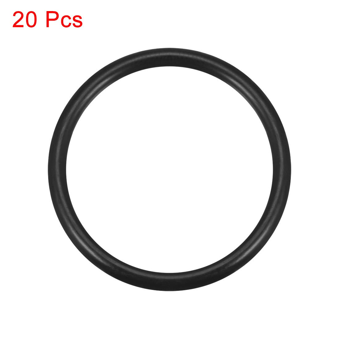 3.5mm Width 63mm Inner Diameter uxcell O-Rings Nitrile Rubber 70mm OD Round Seal Gasket 20pcs