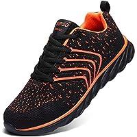XIDISO Mens Running Shoes Women Lightweight Slip On Sneakers for Men Cross Training Athletic Gym Tennis Sports Walking Shoe
