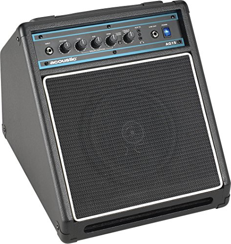 Acoustic AG15 15W 1x8 Acoustic Guitar Combo Amp Black by Acoustic