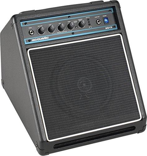 Acoustic AG15 15W 1×8 Acoustic Guitar Combo Amp Black