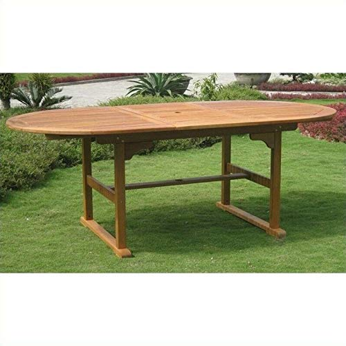 - JumpingLight Royal Tahiti Outdoor Patio Dining Table Durable and Ideal for Patio and Backyard