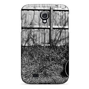 Excellent For Case HTC One M8 Cover PC Cover Back Skin Protector Acoustic Guitar