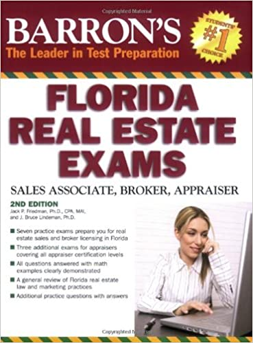 amazon com barron s florida real estate exams barron s the leader