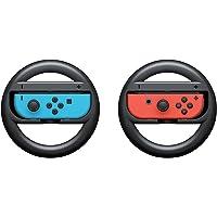 Redlemon Volantes para Nintendo Switch (2 Piezas). Antiderrapantes para Joy-con, Ajuste Perfecto, Ligeros, Resistentes