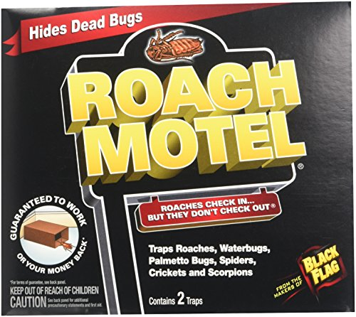 ... (6 Pack) Black Flag Roach Motel Insect Trap by ...