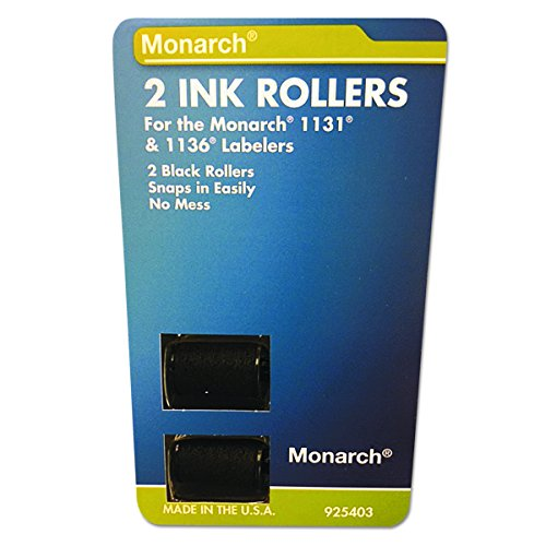 Monarch 925403 Replacement Ink Rollers, Black (Pack of (1136 Price Gun)
