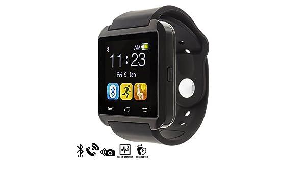 Silica DMQ234BLACK - U80 Bluetooth Watch, Color Negro ...