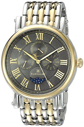 Thomas Earnshaw Men's ES-8031-44 Maskelyne Analog Display Japanese Quartz Two Tone Watch