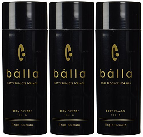 Balla Powder for Men (100 G) - Tingle Formula (3 pack) by Balla by Balla