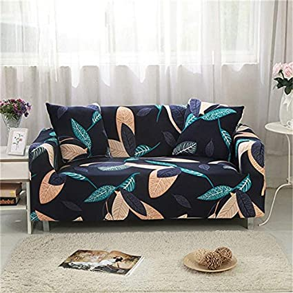 PPMP Sala de Estar Moderna Cubierta de sofá geométrica elástica Sala de Estar Cubierta de sofá elástica sofá Inferior Cubierta de Silla A14 3 plazas