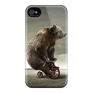 Maria N Young NhWEbzr8833QIyJF Case Cover Iphone 4/4s Protective Case Tricycle Bear