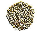 Crystal Aurum Gold, Preciosa Genuine Czech 8-faceted Rhinestone Flatbacks, ss16 (4mm) ~ 1440pcs