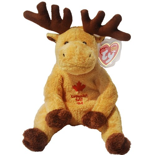 Amazon.com  DOMINION the Canadian Moose (Internet Exclusive) - Ty Beanie  Babies  Toys   Games 530b21bed393