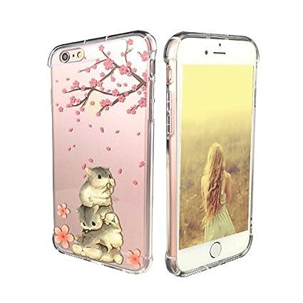 Amazoncom Iphone 6 Plus Caseiphone 6s Plus Case Ftonglogy Floral