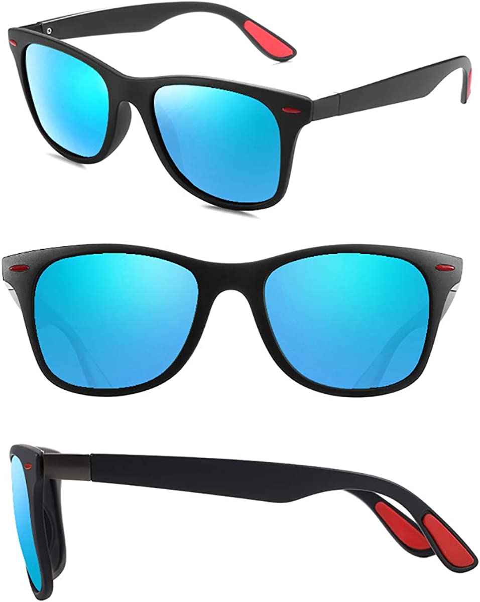 UV400 Protection Baby//Toddler Sunglasses Black Semi Rimless Frame Red Arms BT002