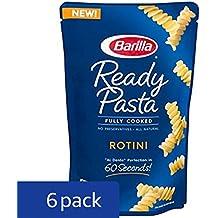 Barilla Ready Pasta, Rotini Pasta, 8.5 Ounces (Pack of 6)