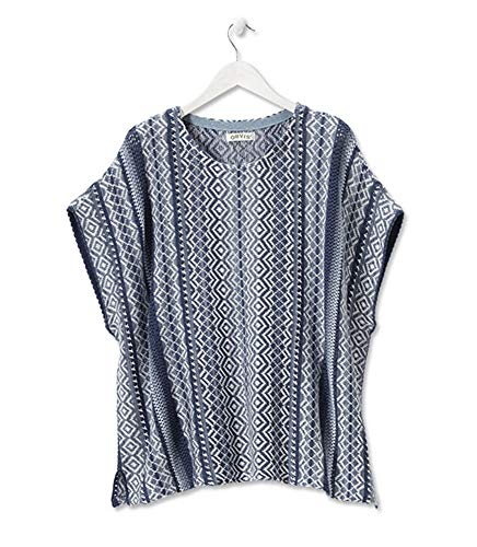 Orvis Women's Caftan Sweater, Blue, Large