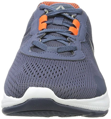 Reebok Astroride Duo Edge, Chaussures de Running Compétition Homme Bleu (Smoky Indigo/Energy Orange/White/Alloy)