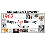 1962 PERSONALIZED BANNER by Partypro