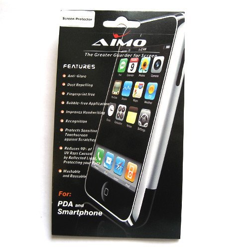 - Transparent LCD Screen Protector for Samsung Captivate I897 (AT&T)
