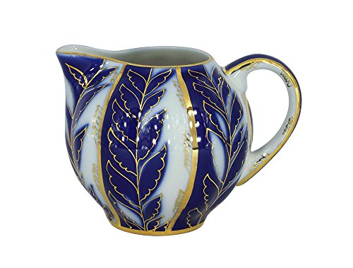 Lomonosov Porcelain Creamer Tulip Winter Night 11.8 fl.oz/350 - Creamer Porcelain Lomonosov
