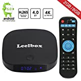 2017 Newest Leelbox Q2 mini Android 6.0 TV Box 2GB+8GB with BT 4.0 Supporting 4K (60Hz) Full HD /H.265 /WiFi