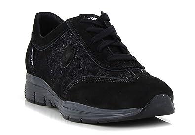 3bef7bb30286ce Mephisto - Baskets YAEL - Noir: Amazon.fr: Chaussures et Sacs