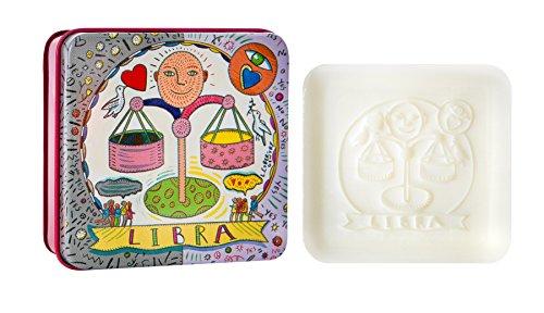 Libra Zodiac (Pre De Provence Zodiac Tin Bar Soap, Libra, 100 Gram)