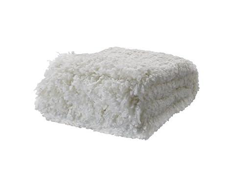 Manta Sofa Ikea.Ikea Ofelia Throw Soft Wool Bland Blanket White 67x51 Couch