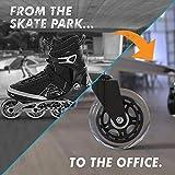 Office Chair Caster Wheels - Heavy Duty & Safe