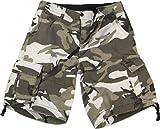 Rothco Vintage Infantry Shorts, City Camo, Medium