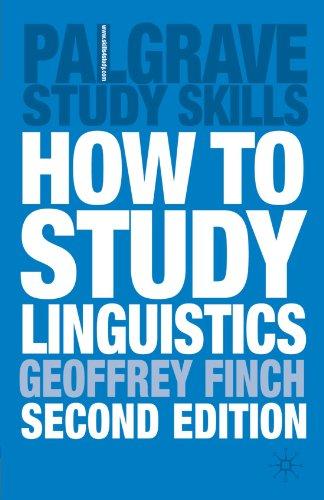 [Best] How to Study Linguistics: A Guide to Study Linguistics RAR