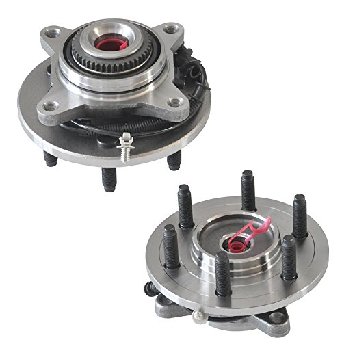 Expedition F150 Wheel - DRIVESTAR 515079x2 Set:2 Front Wheel Hubs&Bearings for F-150 Heritage Expedition 4WD 4X4 ABS