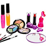 Kids Makeup Set for Girls with Glitter Cosmetics