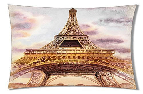 Lumimi Cotton Sofa Home Sweet Couch Decorative PillowCase Solid Cushion Cover ( 20*36 )