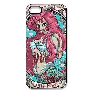 Zombie Disney Princess Little Mermaid iPhone 5 Case Hard Protective Back Case